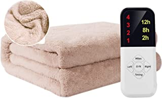 In Addition To Locust Electric Blanket, Heat Pad Electric With 4 Heat Settings-Automatic Power-Off-Fast Heating, Body Warm...