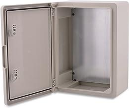BOXEXPERT ABS kunststof behuizing Fleet schakelkast IP65 grijs / transparant (ABS, 350x250x150mm grijs)