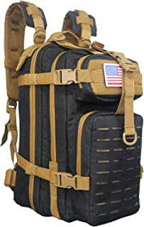 Small 26L Rucksack Pack Bug Out Bag Military Tactical Backpack With Flag Patch