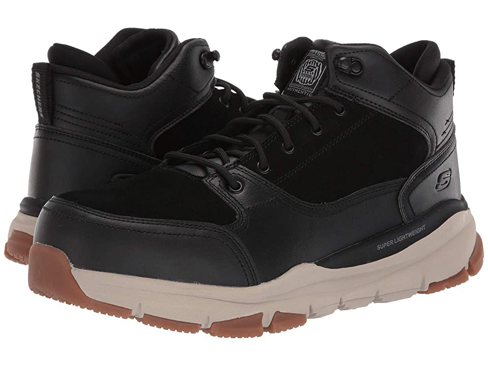 SKECHERS Work Soven Austell Alloy Toe SR (Black) Men