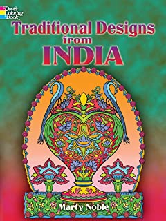 Traditional Designs from India (Dover Design Coloring Books) by Marty Noble (28-Apr-2006) Paperback