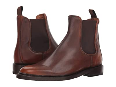 Frye Jones Chelsea (Cognac Veg Crust) Men