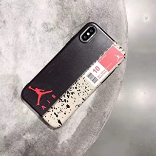 Hot Brand Fly Man Jordan Soft Silicon Cover Case for iPhone 6 6S Plus 7 Plus 8 8Plus X XR XS MAX - Junmp Fashion Phone Cases Coque - Black (for iPhone Xs MAX)