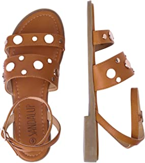 Rivets Studded Flat Sandals Open Toe Summer's Sandals for Women