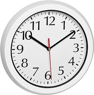 TFA Dostmann Reloj de Pared para Exterior, 60.3542.02, radiocontrolado a Distancia, Resistente a la Intemperie, con Cubier...