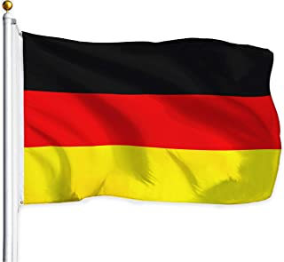 Sungpunet - 3x5 ft Germany Flag Polyester with Brass Grommets