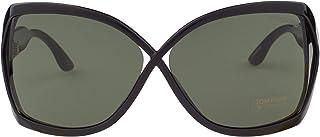 نظارة شمسية للنساء من توم فورد - عدسات خضراء، FT0427