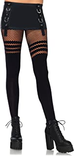 Leg Avenue Women's Opaque Thigh High Pantyhose