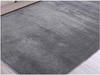 ラグ カーペット 洗える 280×160cm ラグマット 2畳 ラグカーペット 防ダニ 滑り止め付き 冷房対応/床暖房対応 長方形 ライトグレー