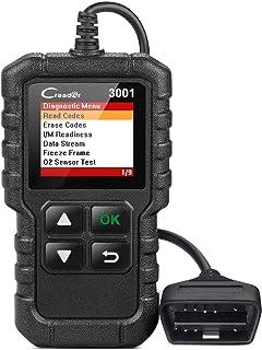 LANÇAMENTO Creader 3001 OBD2 Scanner Automotive Car Diagnostic Check Engine Light O2 Sensor Systems OBD Readers Code Tool ...