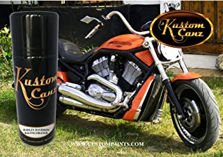 Kustom Canz Harley Davidson Racing Orange - 12 oz Aerosol can - Paint Code S28552