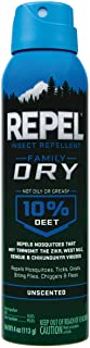 Repel Insect Repellent Family Dry, Aerosol, 4-Ounce