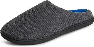 POLAR Womens Memory Foam Cushioned Slip On Rubber Sole Anti Slip Plush Winter Outdoor Indoor Slippers
