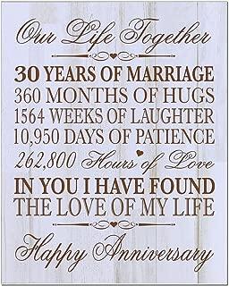30 year anniversary gift