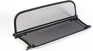 à partir du 2014 avec fermeture rapide GermanTuningParts Déflecteur de vent pour Ford Mustang 6 Filet Anti-Remous Coupe - Pliable Noir Déflecteur dair