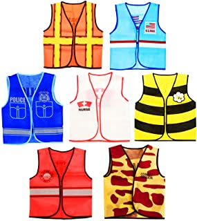 Tigerdoe Dress Up Clothes - 7 Pc - Pretend Play School Set - Career Costumes - Kids Role Play Costume - Occupation Costume