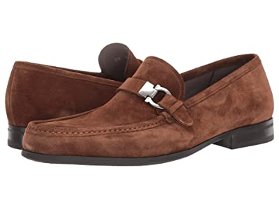 Salvatore Ferragamo Adam Loafer (Brown Sugar Suede) Men