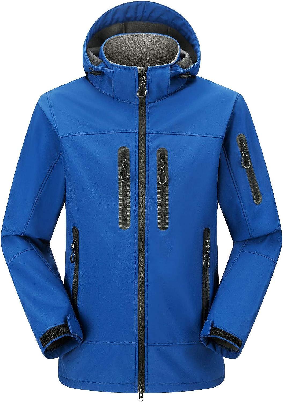 NotingBuss-Christmas Unisex Ski Jacket Coat Warm Winter Waterproof Windbreaker Hooded Raincoat Jacket Outdoor Hiking