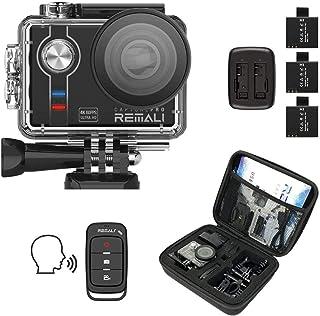 REMALI CapturePro 4K/60fps 20MP impermeable kit de cámara d