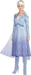 Party City Elsa Act 2 Halloween Costume for Women, Frozen 2, Includes Dress