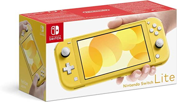 Amazon.nl-Nintendo Switch Lite Console, Geel (Nintendo Switch)-aanbieding