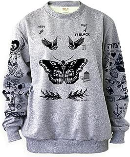 Larry Stylinson Tattoos Sweatshirt Grey Shirt