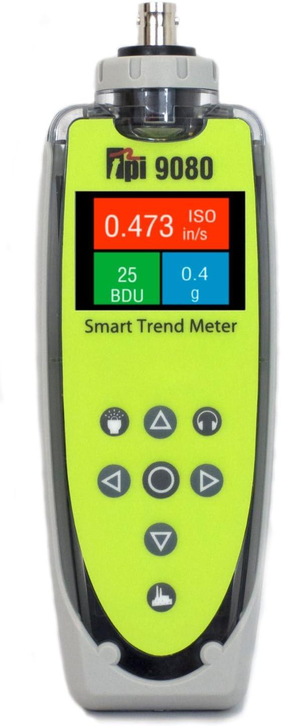 Large special price !! TPI 9080 VibTrend Handheld Smart Vibration Digital Meter Translated