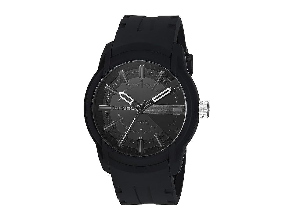 Diesel Armbar Silicone - DZ1830 (Black) Watches