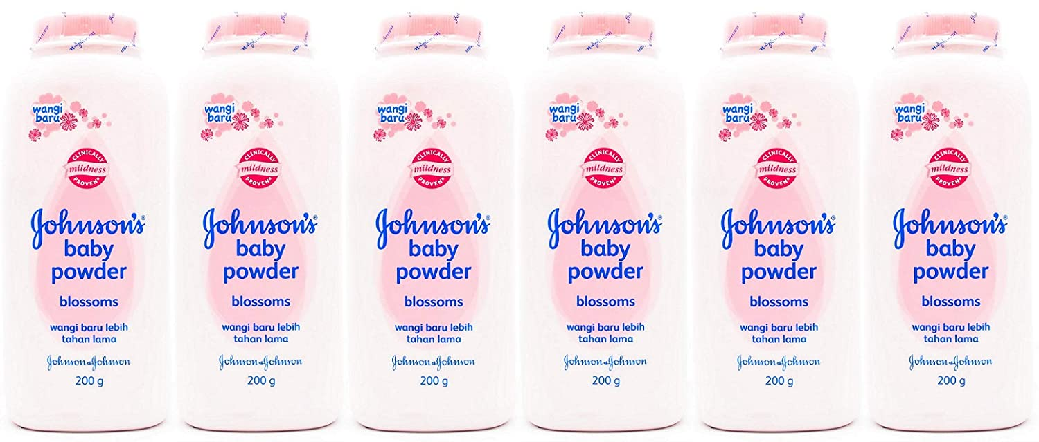 Johnson's Baby Powder Blossoms 200 Max 90% OFF Gr of 6 Pack Low price Oz 7