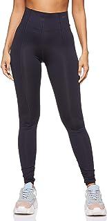 Nike Women's Studio HR Tights, Grey, Small (NKAQ0278-080)