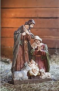 Beautifully Detailed Seasonal Nativity Statuary