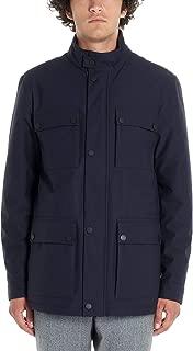 Z Zegna Luxury Fashion Mens ZZ122VT040B09 Blue Outerwear Jacket   Fall Winter 19