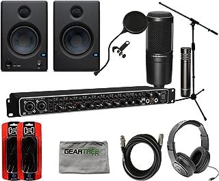 Behringer UMC-1820 U-Phoria Audio Interface w/Studio Monitors, Headphones, Mic