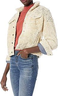 Lucky Brand womens SHERPA TOMBOY TRUCKER JACKET Jacket