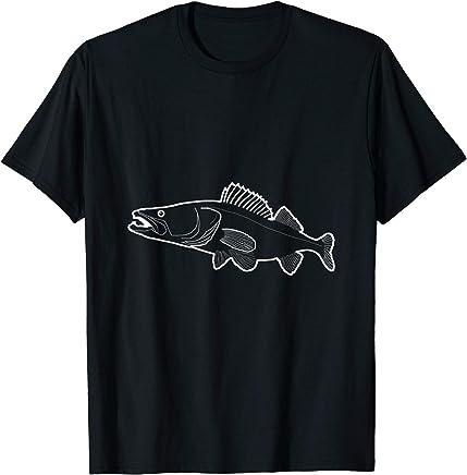 way2way FISCHFL/ÜSTERER /® Classic T-Shirt f/ürAngler