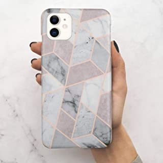 LUMARKE iPhone 11 Case 2019 6.1 inch,Cute Grey Marble for Women Girls, Soft Rubber Silicone Cover with Clear Bumper Slim Fit Protective Phone Case for iPhone 11