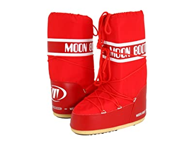 MOON BOOT Moon Boot(r) Nylon (Red) Cold Weather Boots