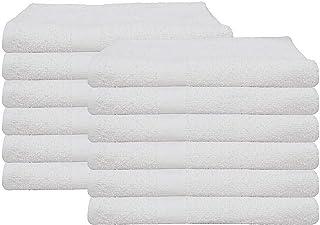 6 (1/2 Dozen) Cotton Economy Bath Towels Utility Grade 20x40 By OMNI LINENS