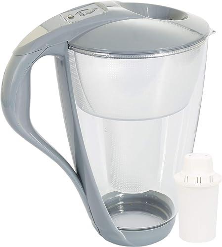Jarra de cristal de filtro de agua Dafi Crystal Classic 2.0L incluye 1 filtro - Grafito