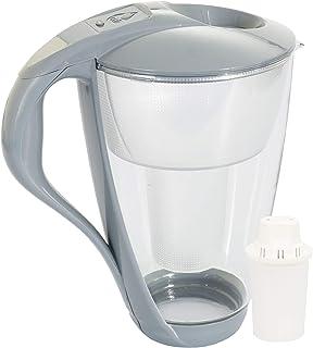 Carafe avec filtre à eau en verre Dafi Crystal Classic 2.0L + 1 Cartouche - Graphite