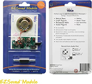 EZSound Module - Light Activated - Easy to Record - 120 Seconds Recording - High Sound Quality
