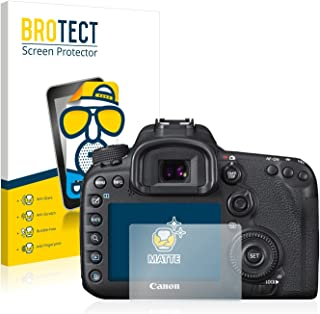 BROTECT Protector Pantalla Anti-Reflejos Compatible con Canon EOS 7D Mark II (2 Unidades) Pelicula Mate Anti-Huellas