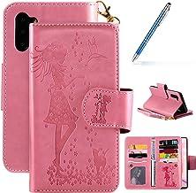 Robinsoni Case Compatibel met Galaxy Note 10 Telefoon Case PU Lederen Portemonnee Case Book Stijl Case Gel Bumper Bescherm...