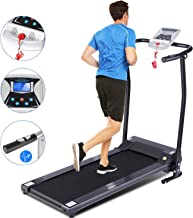 FUNMILY Treadmills for Home, Treadmill with LCD Motorized Running Walking Jogging Exercise Fitness Machine Trainer Equipment for Gym Home Office