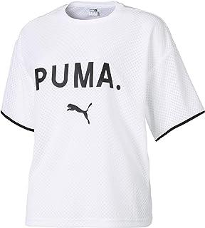 Puma Chase Mesh T-Shirt For Women, Size XS Puma White