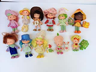 Strawberry Shortcake Vintage 70&80s 12 Dolls,6 Minis,Trolley,Bike,Bake Shop,Can