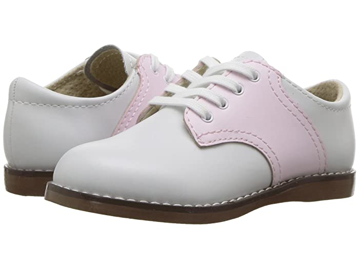 Kids 1950s Clothing & Costumes: Girls, Boys, Toddlers FootMates Cheer 3 ToddlerLittle Kid WhiteRose Girls Shoes $59.95 AT vintagedancer.com