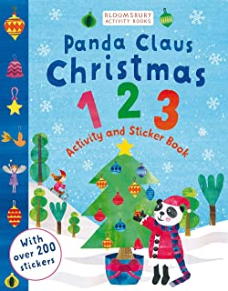 Panda Claus And The Christmas. 123 Sticker Activity (Bloomsbury Activity Books)