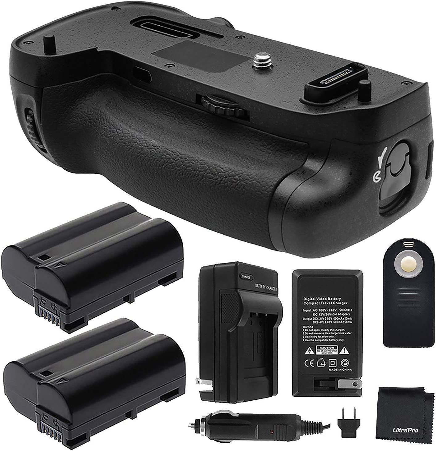 Battery Grip Bundle F Nikon D750: shipfree Selling rankings MB-D16 Replacement Includes Gr