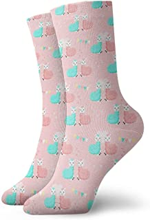 Unisex Funny Cactus Green Athletic Quarter Ankle Print Breathable Hiking Running Socks